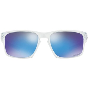 Sun glasses OAKLEY Sliver Polished Clear w/ PRIZM Sapph OO9262-4757, Oakley