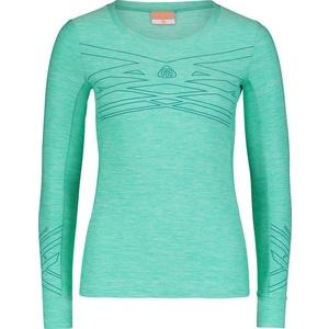 Women fitness shirt NORDBLANC Fuition NBSLF6664_SEZ, Nordblanc
