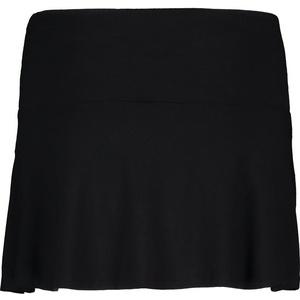 Women elastic knitwear skirt NORDBLANC Frill NBSSL6675_CRN, Nordblanc