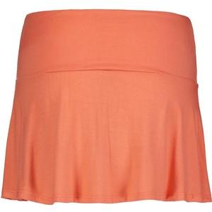 Women elastic knitwear skirt NORDBLANC Frill NBSSL6675_MAP, Nordblanc
