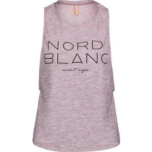 Women top to yoga NORDBLANC Wide NBSLF6694_RUJ, Nordblanc