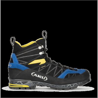 Men boots AKU Tengu Lite GTX black, blue, yellow, AKU