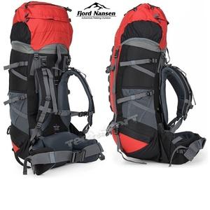 Backpack Fjord Nansen Himil 60 + 10 l red 40538, Fjord Nansen