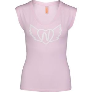 Women elastic t-shirt NORDBLANC Winged NBSLT6742_RUT, Nordblanc