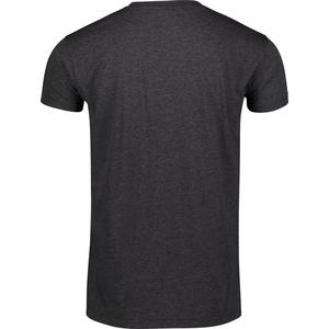 Men cotton t-shirt NORDBLANC Crest NBSMT6814_GRM, Nordblanc