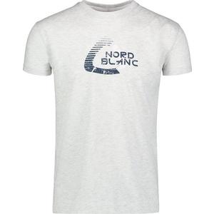 Men cotton t-shirt NORDBLANC Remiss NBSMT6815_SSM, Nordblanc