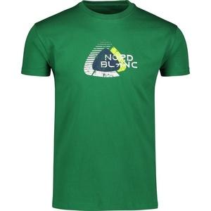 Men cotton t-shirt NORDBLANC Remiss NBSMT6815_ZME, Nordblanc