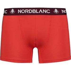 Men cotton boxer shorts Nordblanc Depth red NBSPM6865_CVN, Nordblanc