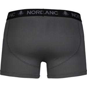 Men cotton boxer shorts Nordblanc Depth grey NBSPM6865_TSD, Nordblanc