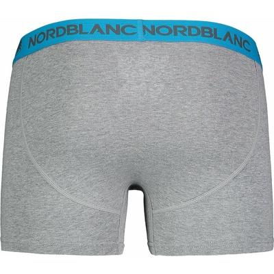 Men's cotton boxer shorts NORDBLANC Fiery NBSPM6866_TSD, Nordblanc