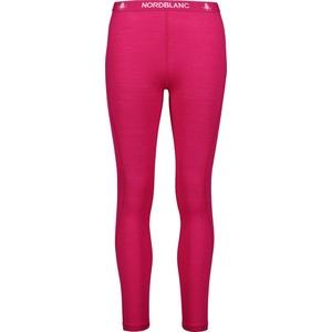 Women thermal pants Nordblanc Rapport dark pink NBWFL6874_RUV, Nordblanc