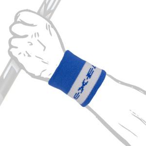 Sweat band BIG Wristband SHORT blue, Exel