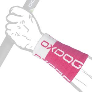Sweat band OXDOG TOUR LONG Wristband pink / white, Oxdog