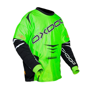 Goalkeeper jersey OXDOG GATE GOALIE SHIRT green / black, Oxdog