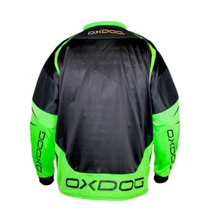 Goalkeeper jersey OXDOG GATE GOALIE SHIRT black / green, Oxdog