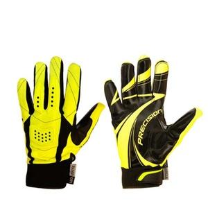 Goalkeepers gloves PRECISION GOALIE GLOVES black / yellow senior, Exel