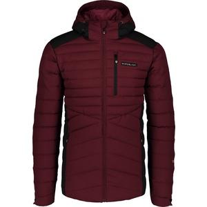 Men winter jacket Nordblanc Shale wine NBWJM6910_ZPV, Nordblanc