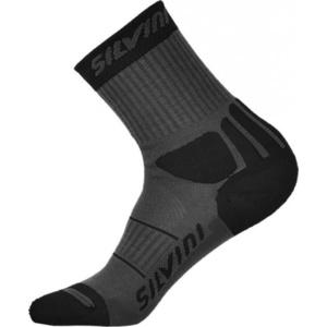 Socks Silvini Vallonga UA522  charcoal-black , Silvini