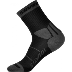 Socks Silvini Vallonga UA522 black-grey, Silvini