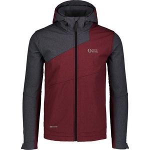 Men softshell jacket Nordblanc Aid wine NBWSM7019_ZPV, Nordblanc