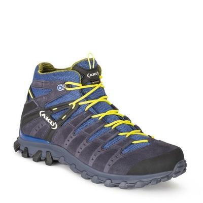 Shoes men AKU Alterra Lite GTX Mid women's gray / light blue, AKU