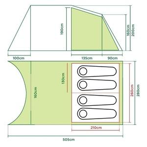 Tent Coleman Da Gama 4, Coleman