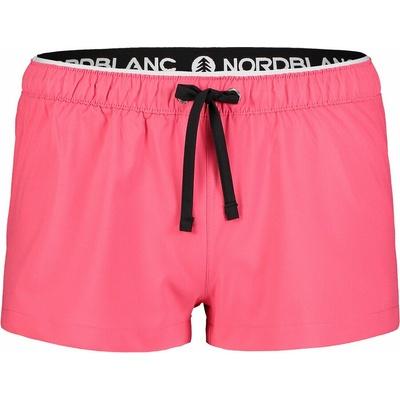 Women's running shorts NORDBLANC Flounce pink NBSPL7205_RBP, Nordblanc