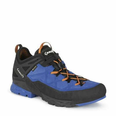 Men's shoes AKU Rock Dfs GTX blue / orange, AKU