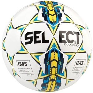 Football ball Select FB Diamond white blue, Select