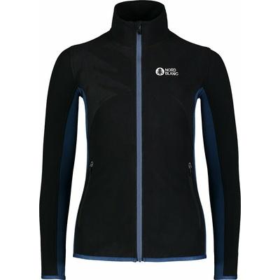 Women fleece lightweight hoodie Nordblanc Mist NBSFL7380_CRN, Nordblanc