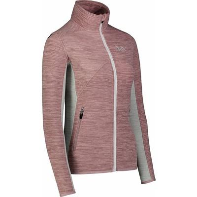 Women fleece lightweight hoodie Nordblanc Mist NBSFL7380_RUK, Nordblanc