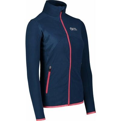 Women fleece lightweight hoodie Nordblanc Mist NBSFL7380_SRM, Nordblanc