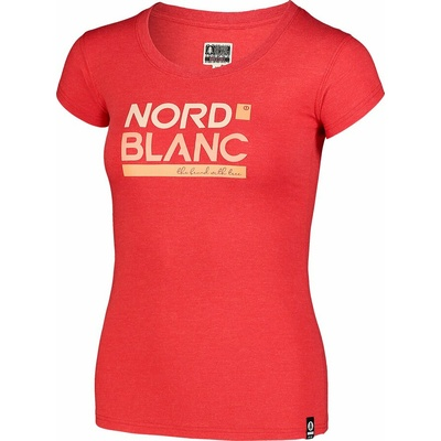 Women's cotton t-shirt NORDBLANC Ynud black NBSLT7387_TCV, Nordblanc