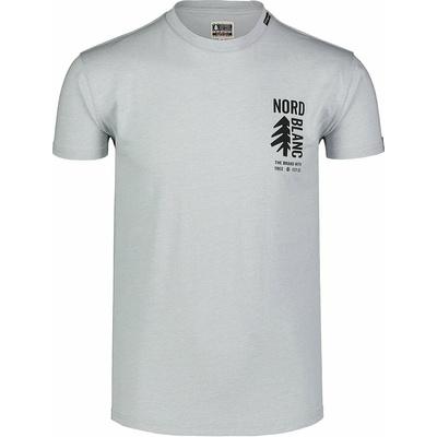 Men's cotton shirt Nordblanc SARMY gray NBSMT7390_SSM