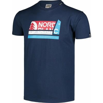 Men's cotton shirt Nordblanc WAL LON blue NBSMT7391_MOB, Nordblanc