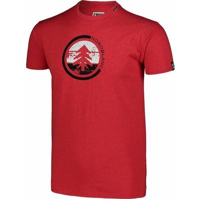 Men's cotton shirt Nordblanc TRICOLOR red NBSMT7397_TCV, Nordblanc