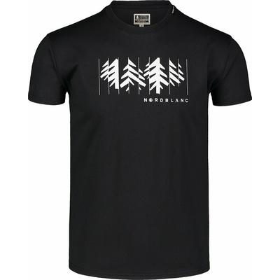Men's cotton shirt Nordblanc DECONSTRUCTED black NBSMT7398_CRN, Nordblanc