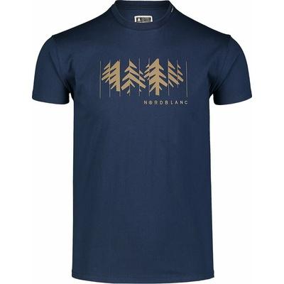 Men's cotton shirt Nordblanc DECONSTRUCTED blue NBSMT7398_MOB, Nordblanc