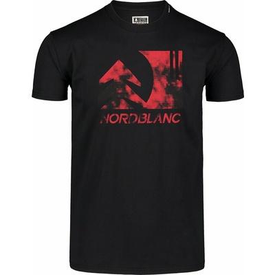 Men's cotton shirt Nordblanc TREETOP black NBSMT7399_CRN, Nordblanc