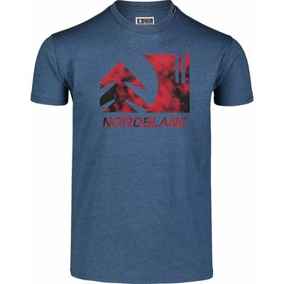 Men's cotton shirt Nordblanc TREETOP blue NBSMT7399_SRM, Nordblanc