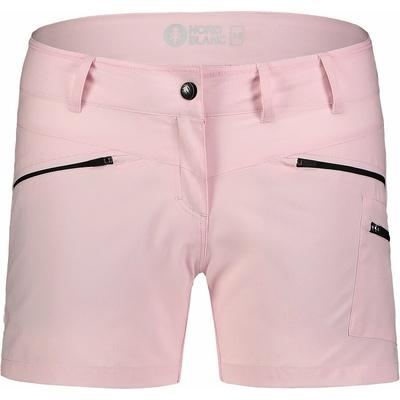 Women's lightweight outdoor shorts NORDBLANC Simplicity NBSPL7418_RUT, Nordblanc