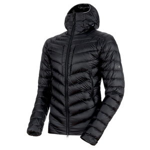 Men jacket Mammut Broad Peak IN Hooded Jacket Men black phantom 00189 (1013-00260), Mammut