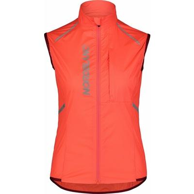 Women ultralight cycling vest NORDBLANC Roamer NBSJL7428_OHK, Nordblanc