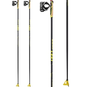 Running sticks Leki PRC 850 black / anthracite / white / yellow 6434040