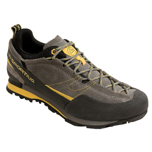 Shoes La Sportiva Boulder X gray / yellow, La Sportiva