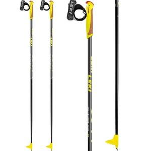 Running sticks Leki XTA 5.5 Jr. black / anthracite / white / yellow 64949721, Leki