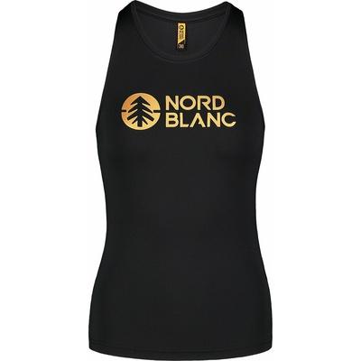 Women's fitness top Nordblanc Balm Black NBSLF7446_CRN, Nordblanc