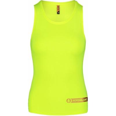 Women's fitness top Nordblanc Aero Yellow NBSLF7447_BPZ, Nordblanc