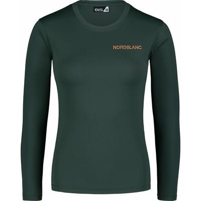 Women's fitness t-shirt Nordblanc Clash green NBSLF7448_TZE