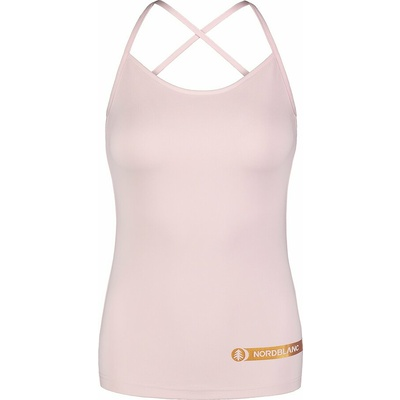 Women's fitness top Nordblanc Strappy pink NBSLF7449_BRR, Nordblanc